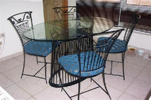 Petite annonce plan de campagne table en fer forge 6 chaises - Petite table en fer forge ...